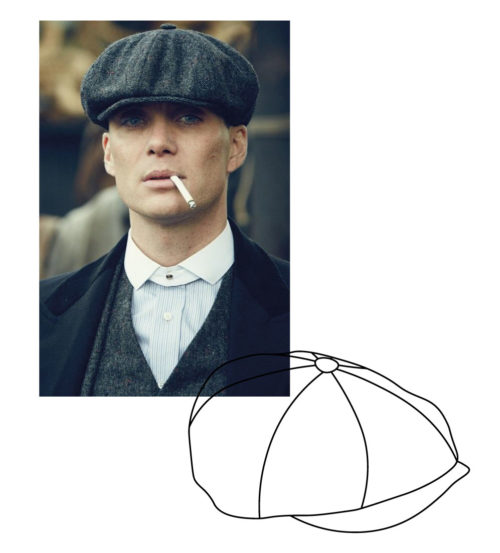 casquette style Peaky Blinders irlandaise