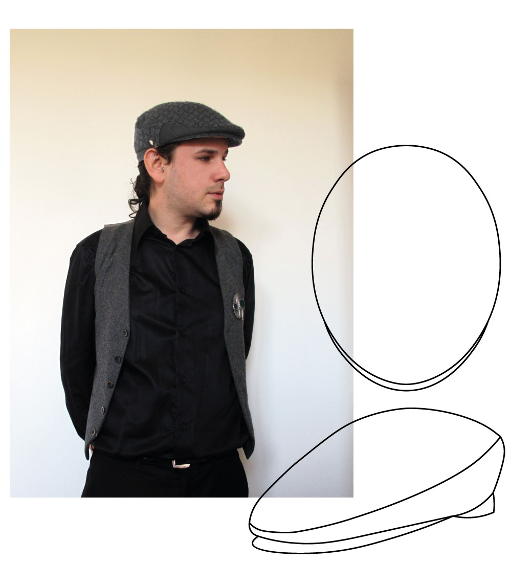 casquette plate made in france homme